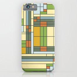 Frank lloyd wright pattern S01 iPhone Case