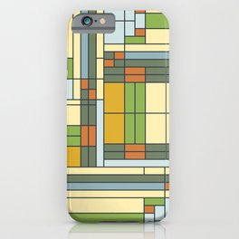 Stained glass pattern S01 iPhone Case
