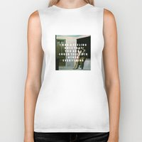 vampire weekend Biker Tanks featuring Summer Weekend by Modern Vampires of Art History
