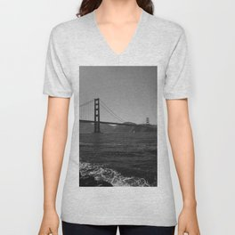 Golden Gate Bridge III Unisex V-Neck
