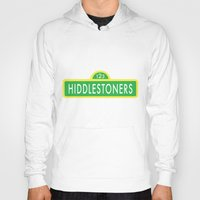 sesame street Hoodies featuring Hiddlestoners Sesame Street by RLJ Photographic