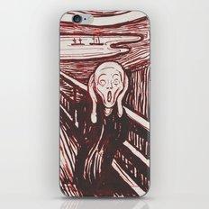 The Scream's Haze (red) iPhone & iPod Skin