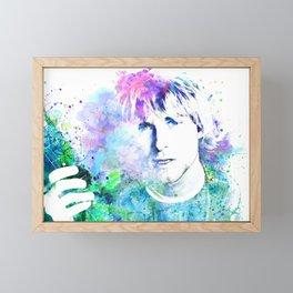 Kurt Kobain Framed Mini Art Print