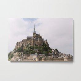 Mont-Saint-Michel Metal Print