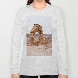 Early Morning at Delicate Arch Long Sleeve T-shirt