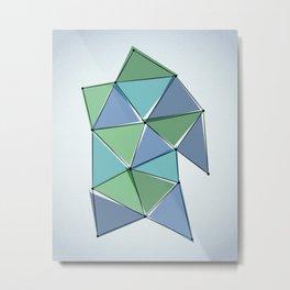 Origami 25 Metal Print