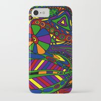 psychadelic iPhone & iPod Cases featuring Psychadelic by Groolya