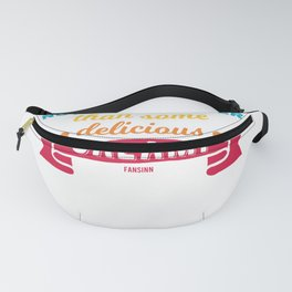 National Day salami sausage Italy Pizza Fanny Pack