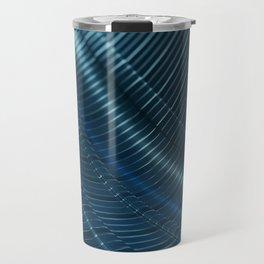 Dark Steel Surface Travel Mug