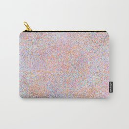 Modern teal pink gold yellow watercolor splatters Carry-All Pouch