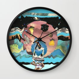 a little spaced out Wall Clock