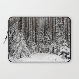 The trees dressed in white Laptop Sleeve