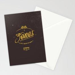 """Jones' Rare Antiquities"" - gold version Stationery Cards"