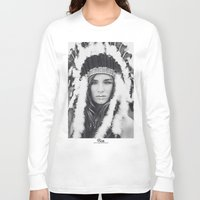 navajo Long Sleeve T-shirts featuring Navajo by Jamie de Leeuw