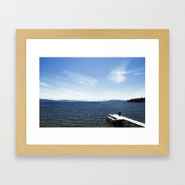 Lake Tahoe, CA Framed Art Print