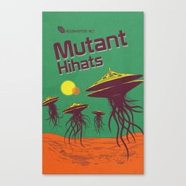 Hexinverter.net – Mutant Hihats Canvas Print
