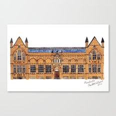 The Holden Gallery in Manchester by Charlotte Vallance Canvas Print