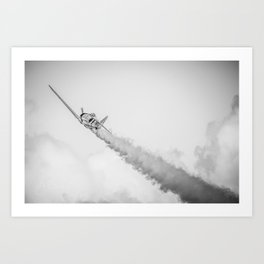 Zero Smoke Art Print