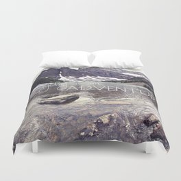 Everyday is an Adventure Duvet Cover