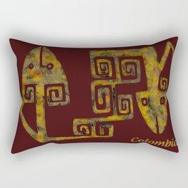 Colombian culture Rectangular Pillow