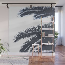 Palm Tree leaves abstract III Wall Mural