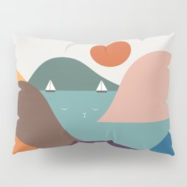 Cat Landscape 12 Pillow Sham