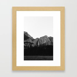 Yosemite Falls V Framed Art Print