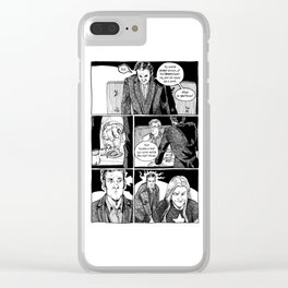 Johnny Public chapter 10, page 19 Clear iPhone Case