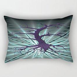 Epiphatree (purple & blue) Rectangular Pillow