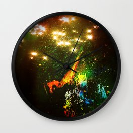 Angel's Wings Wall Clock