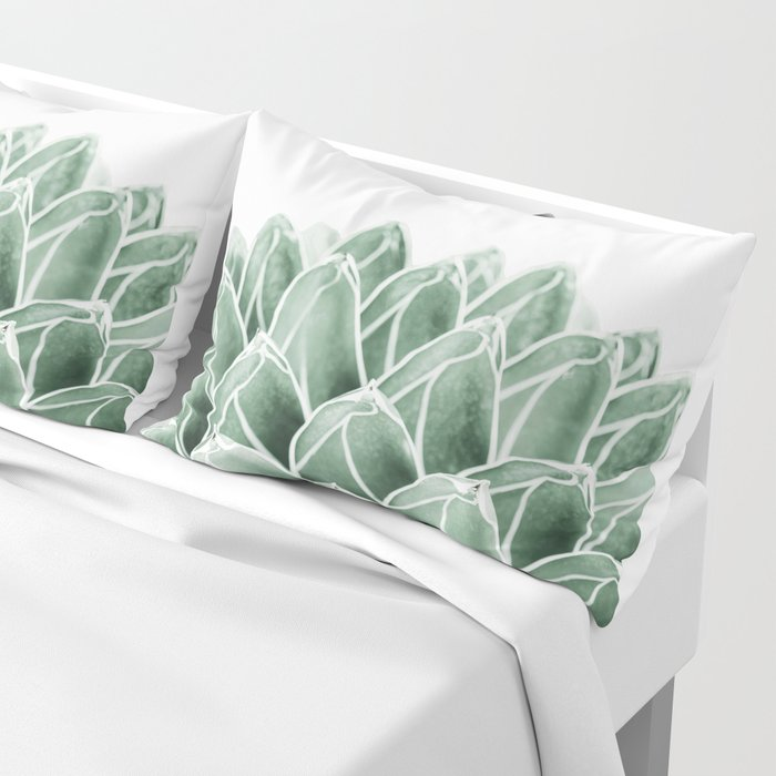 Succulent splendour Pillow Sham