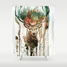 DEER IV Shower Curtain