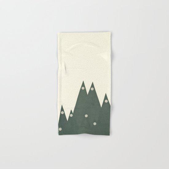Moonlit Peaks Hand & Bath Towel