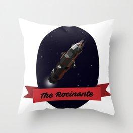 The Rocinante Throw Pillow