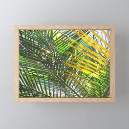 Golden Palm Framed Mini Art Print