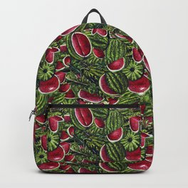 Watermelon Pattern Design Backpack