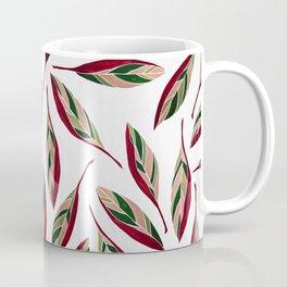 Stromanthe Storm White Coffee Mug