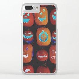 Jack O'Lanterns Clear iPhone Case