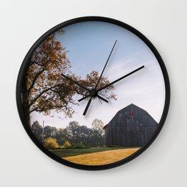 Kentucky Barn II Wall Clock