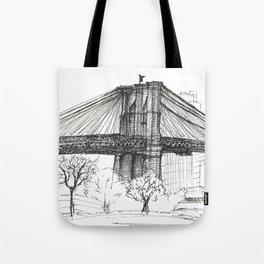 BK Bridge  Tote Bag