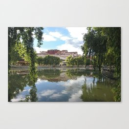 Potala Palace Tibet Canvas Print