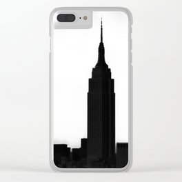 An Empire State Clear iPhone Case