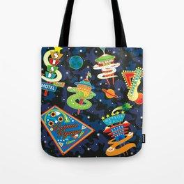 Cosmic Voyage Tote Bag