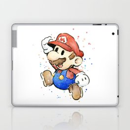Mario Watercolor Laptop & iPad Skin