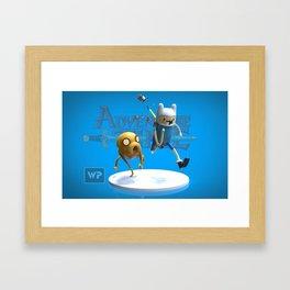 C'mon Grab a friend. Framed Art Print