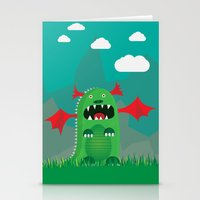 dragons Stationery Cards featuring Dragons! by SkippyZA