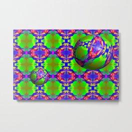 0607 Pattern on the bowls ... Metal Print