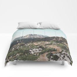 Italian Dolomites II Comforters
