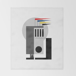 BAUHAUS DREAMING Throw Blanket