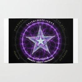 Light Star of Virtues Rug